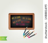 poster back to school... | Shutterstock .eps vector #148881695