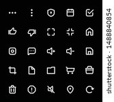 ui esential icon set in line...