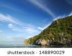 beach on poda island in... | Shutterstock . vector #148890029