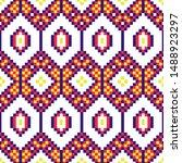 african geometric seamless...   Shutterstock .eps vector #1488923297