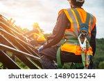 safety body construction ... | Shutterstock . vector #1489015244
