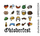 vector hand drawn oktoberfest...