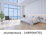 Bedroom And Modern Style.with...