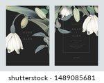 Floral Wedding Invitation Card...