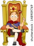 boy,cartoon,cartoon people,child,clip art,clipart,crown,cutout,duke,eps,gold,graphic,illustration,isolated,kid