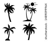 Palm Tree Collections Vector...