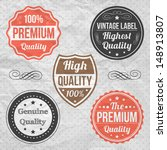 collection of premium quality | Shutterstock .eps vector #148913807