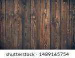 Dark Brown Wooden Planks ...