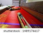 Hand Loom Silk Sarees Weaving...