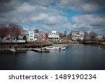 Milford Harbor, Weapawaug River  -- Milford CT.
