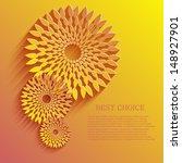 vector flower background. eps10 | Shutterstock .eps vector #148927901