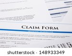 claim form  paperwork and legal ... | Shutterstock . vector #148933349