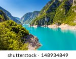 the piva canyon with its... | Shutterstock . vector #148934849