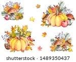 Autumn Illustrations With...