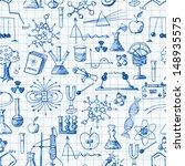 back to school pen sketch... | Shutterstock .eps vector #148935575