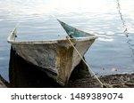 Old Sunken Fishing Boat Near...