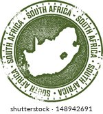 south africa country stamp | Shutterstock .eps vector #148942691