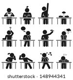 school days we have all been... | Shutterstock .eps vector #148944341
