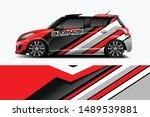 car wrap graphic racing... | Shutterstock .eps vector #1489539881
