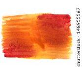 orange watercolor background  | Shutterstock . vector #148955567