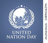 united nation day letter vector ... | Shutterstock .eps vector #1489616294