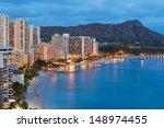 Scenic View Of Honolulu City ...