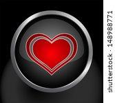 heart icon symbol   Shutterstock .eps vector #148988771