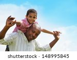 close up portrait african...   Shutterstock . vector #148995845
