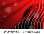 stylish red background for... | Shutterstock . vector #1490063681