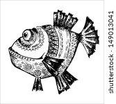 vector fish | Shutterstock .eps vector #149013041