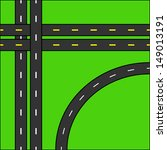 road background vector | Shutterstock .eps vector #149013191
