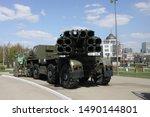 tula   may 1  2019   military... | Shutterstock . vector #1490144801