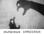 A big monster claw shadow...