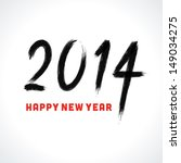happy new year   2014...   Shutterstock .eps vector #149034275