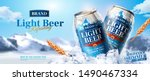 Light Beer Ads Banner Design...