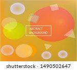 modern blurry smooth background.... | Shutterstock .eps vector #1490502647