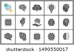 artificial intelligence icon... | Shutterstock .eps vector #1490550017