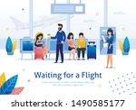 airline company  flights...   Shutterstock .eps vector #1490585177