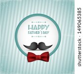 happy father's day | Shutterstock .eps vector #149065385