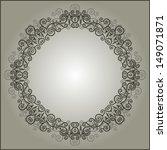 vintage frame border design | Shutterstock . vector #149071871