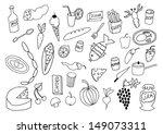 food set | Shutterstock .eps vector #149073311