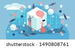 sugar vector illustration. flat ... | Shutterstock .eps vector #1490808761