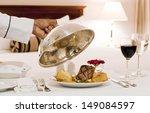 Stock photo room service 149084597