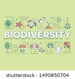 biodiversity word concepts...