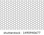 Honeycomb Grid Texture And...