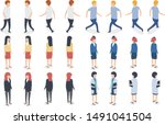 a variety of professional... | Shutterstock .eps vector #1491041504