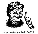 Granny Knows   Retro Clip Art...