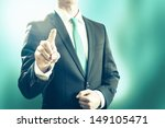 pointing towards camera and... | Shutterstock . vector #149105471