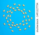 Salted Fish Cracker Abstract...