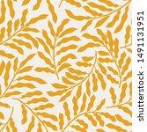 seamless vector floral pattern. ...   Shutterstock .eps vector #1491131951